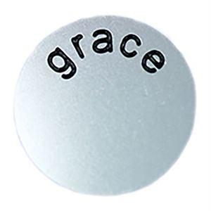 Picture of 'Grace' Large Silver Coin
