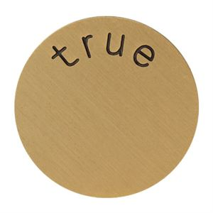 Picture of 'True' Large Gold Coin
